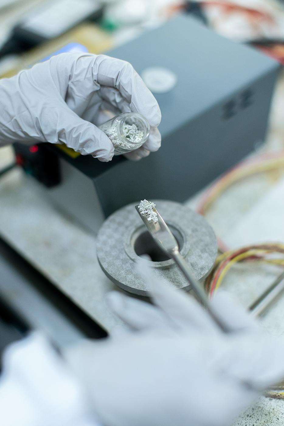 laboratorio prove sui materiali da costruzione